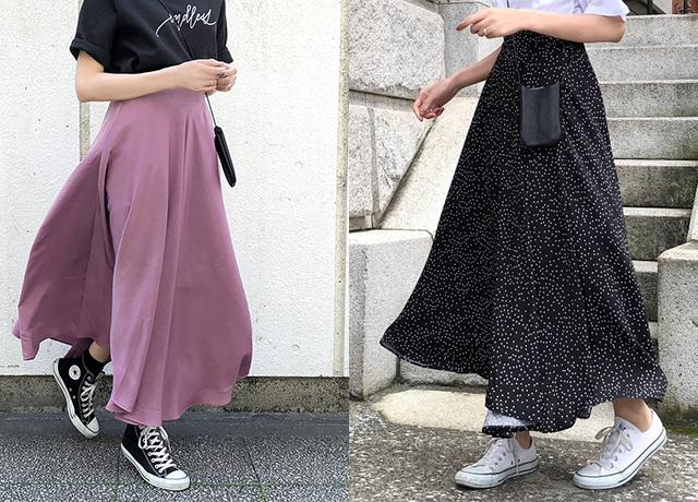 夏のロングフレアスカートが欲しい♡使える万能アイテムを厳選!