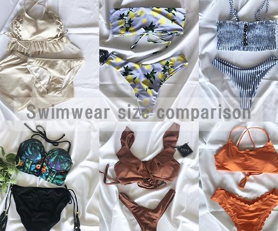 【水着サイズ比較レビュー】プチプラで可愛い水着が買える♡おすすめ通販3選