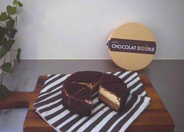 """ホワイトデーのお返しにも!チョコレートのチーズケーキ""""ショコラドウ―ブル"""""""