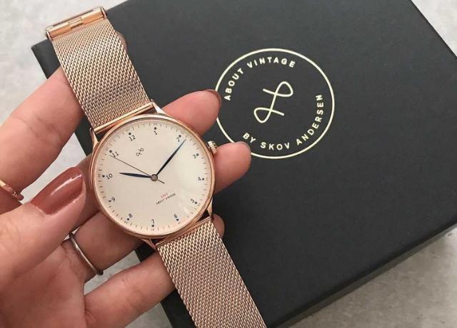 高品質なのにリーズナブル♪ABOUT VINTAGEの北欧デザイン腕時計