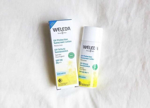 \1年中使える/赤ちゃんや敏感肌にもおすすめの優しい日焼け止め『WELEDA エーデルワイスUVプロテクト』
