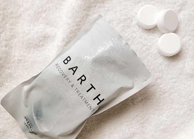 疲れた身体をしっかりケア♪SNSでも人気の『薬用BARTH 中性重炭酸入浴剤』