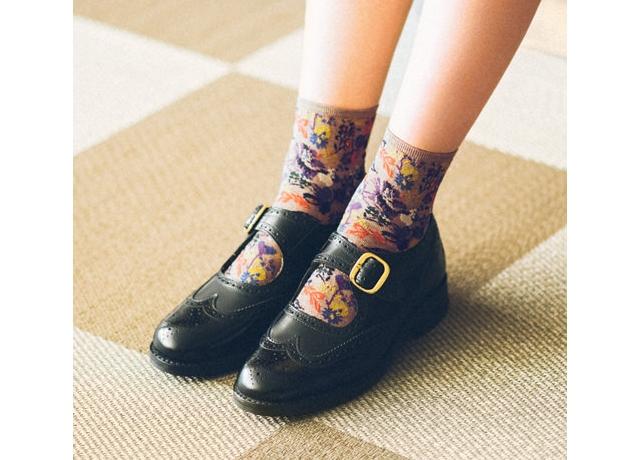 靴下屋のTabioから秋冬に履きたい柄物ソックスが新作入荷