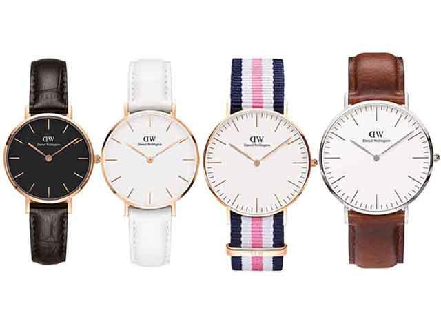 バレンタインのプレゼントやペアウォッチにもおすすめ♡ダニエルウェリントンの腕時計♪