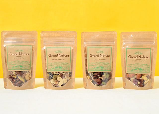 Grand Natureミックスナッツお試しセットが1,200円→1,080円で購入できるようになりました