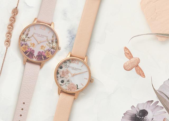 OLIVIA BURTONから時計と一緒にオシャレを楽しむジュエリーラインが初登場!