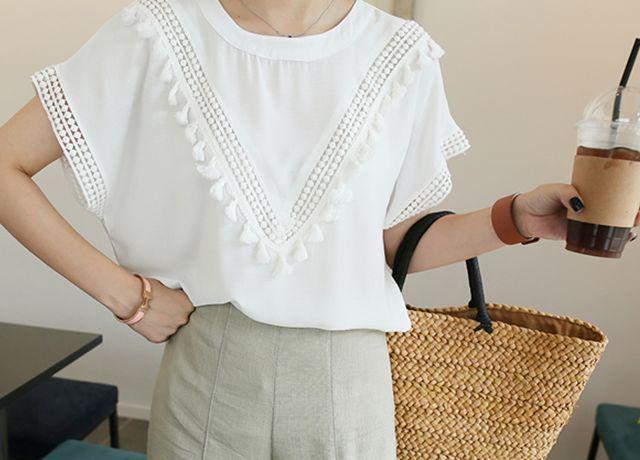 きれいめデザイントップスが3000円以内で買える♡プチプラ韓国ファッションSSUNNY