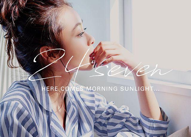 寝る時も可愛くオシャレに♡神戸レタスの選べるパジャマ24sevenシリーズ
