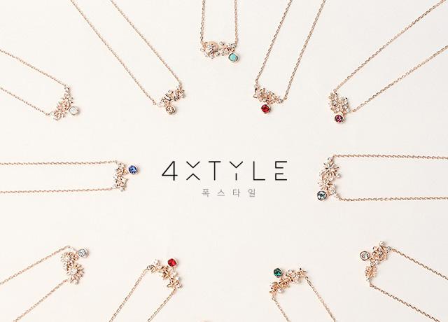 安くて可愛いネックレスが1000円~買える♡4xtyleの最新人気ネックレス