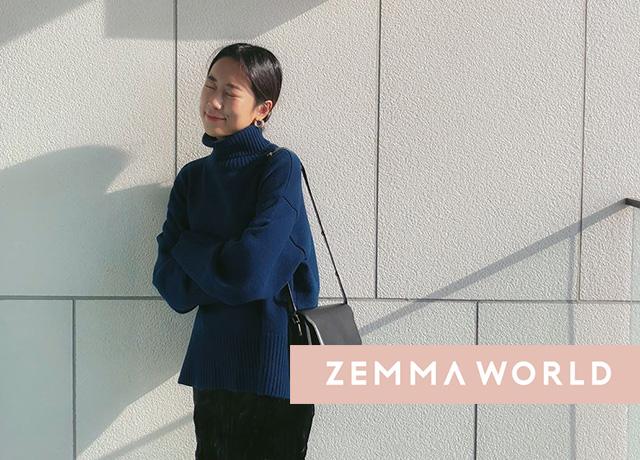 韓国で長年人気のブランド「ZEMMA WORLD」が大人可愛い♡