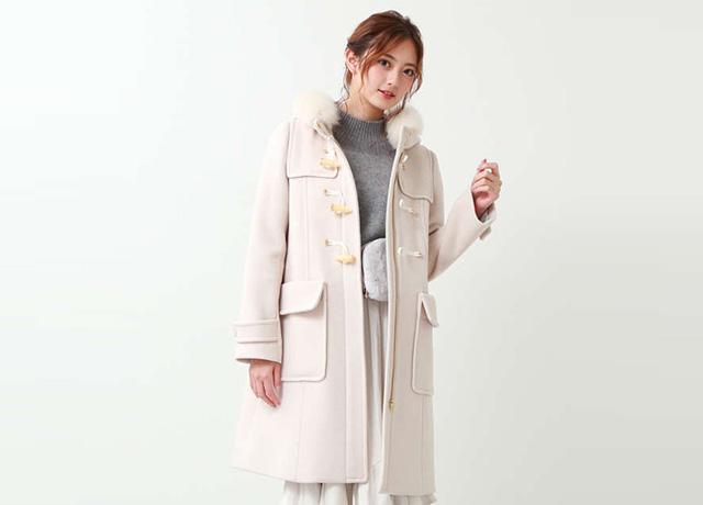 """冬の可愛いモテコーデは""""白コート""""で決まり!JILLなど人気ブランドで発売"""