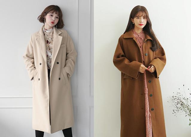 アウター買い足しならDHOLICのロングコートがおしゃれで可愛い♡