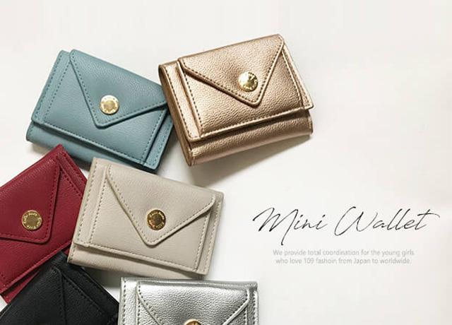 小さくて便利♡3000円以内で買えるプチプラミニ財布ならショップにこにこ