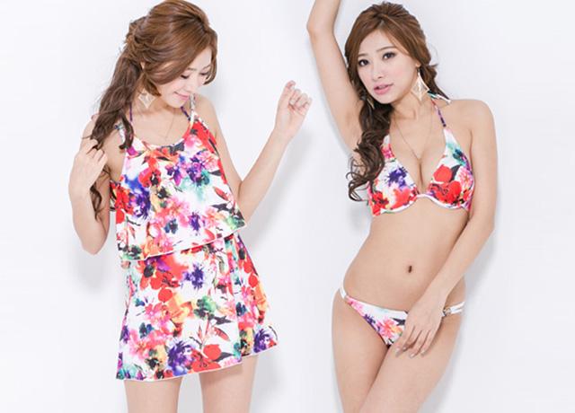 体型カバーが叶う可愛いプチプラ水着ならkirara(キララ)♡