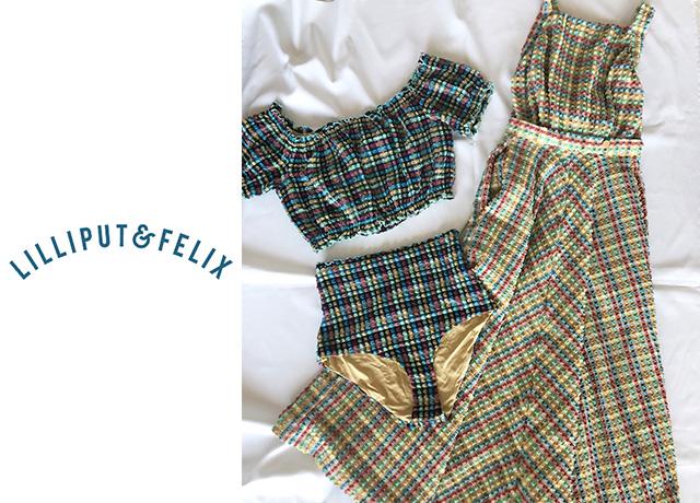 【購入レビュー】イギリス発!注目の水着ブランド♡LILIPUT & FELIX(リリパット&フェリックス)