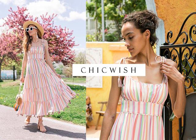 CHICWISH(シックウィッシュ)の夏ワンピースがおしゃれで可愛い!