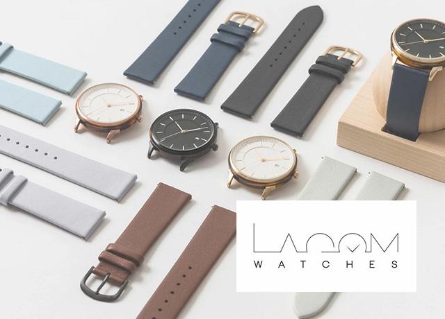 スウェーデン発おしゃれ腕時計ブランド「lagom watches(ラーゴムウォッチ)」大特集