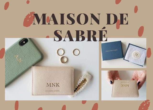 【購入レビュー】イニシャルが入れられる!MAISON de SABRÉ(メゾン・ド・サブレ)の牛革名刺入れ