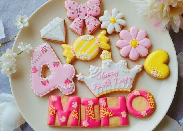 可愛いくケーキをデコレーションCake.jpの人気アイシングクッキー