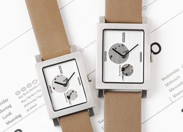 2020年のクリスマスに贈りたい『NO Monday』の人気スクエア腕時計