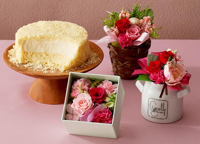 感謝の気持ちをケーキとお花に込めて♪ルタオのおすすめ母の日ギフト